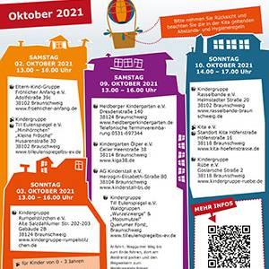 Tage der offenen Türen Oktober 2021